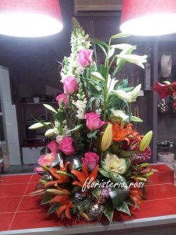Arreglo floral para regalar