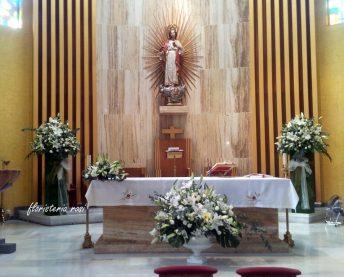 Flores para boda en Murcia, Iglesia de Casillas