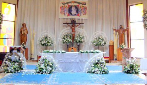 Bodas originales en Murcia, arreglos de boda, floristerias Murcia, Iglesia de Capuchinos