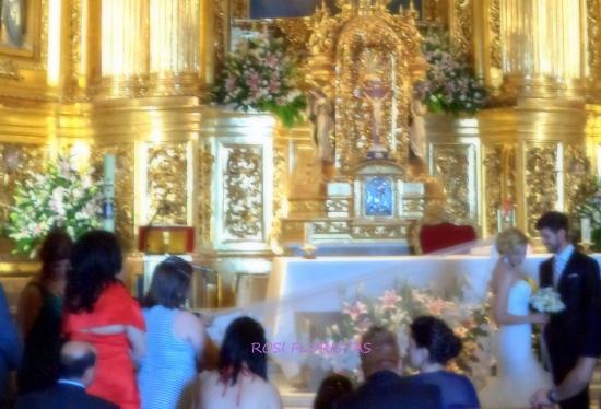 Interior del Santuario de la Fuensanta en Murcia