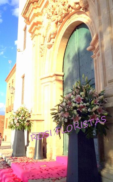 Entrada Iglesia de la Fuensanta