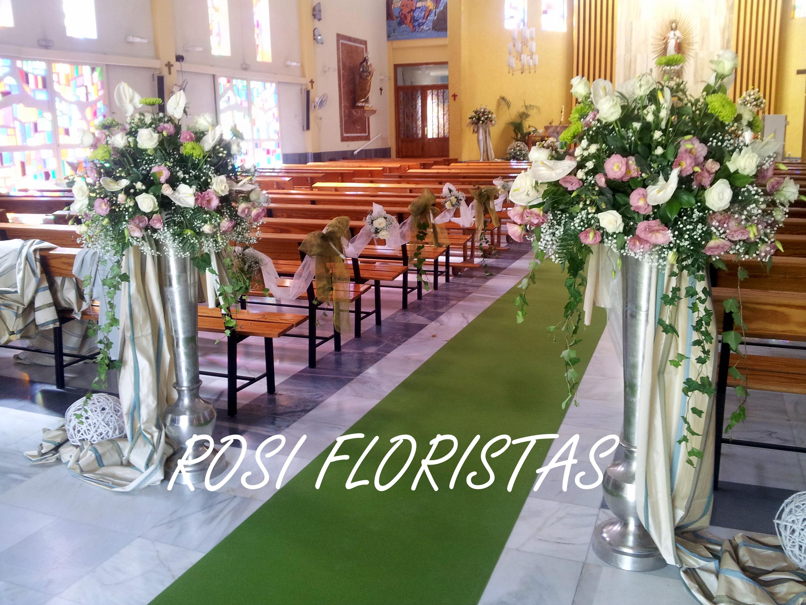 Arreglos florales para boda en murcia floristeria rosi - Arreglos florales para bodas ...