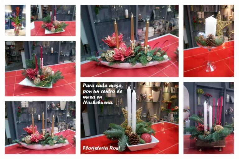 Centros de mesa para navidad y nochebuena