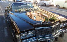 Decoracion de coche antiguo para boda