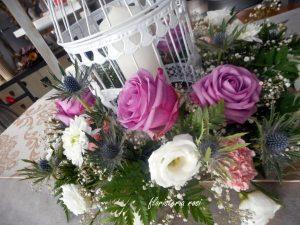 Jaulas con flores en Murcia