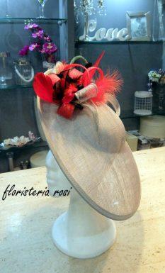 Pamela de boda con rojo