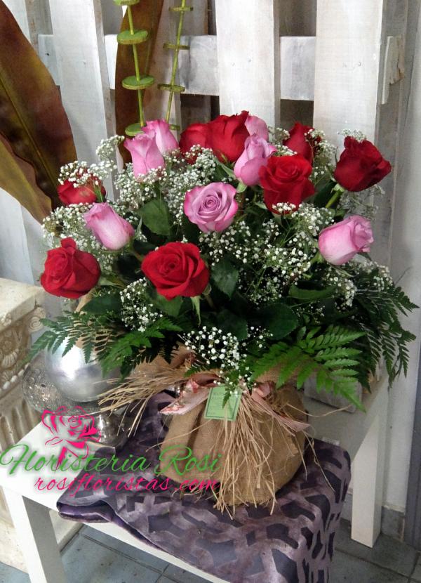 ramo de rosas san Valentin Murcia