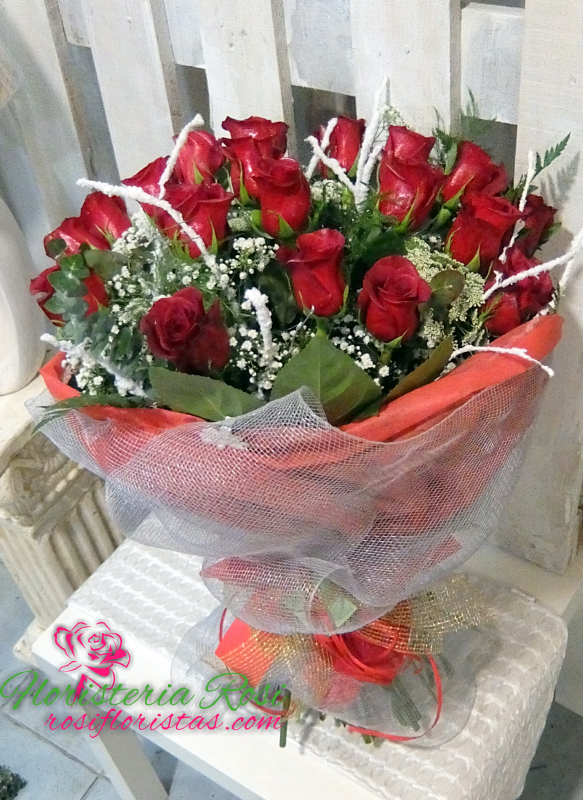 Rosas san Valentin en Murcia