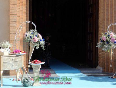 Boda en Murcia 2018, en iglesia de Zarandona