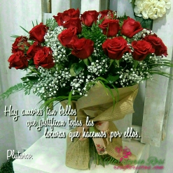 Ramo de rosas en Murcia
