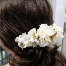 tiara de flor preservada en Murcia