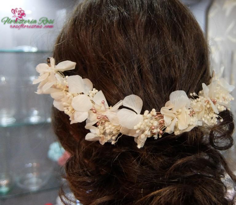 corona de flor preservada Murcia